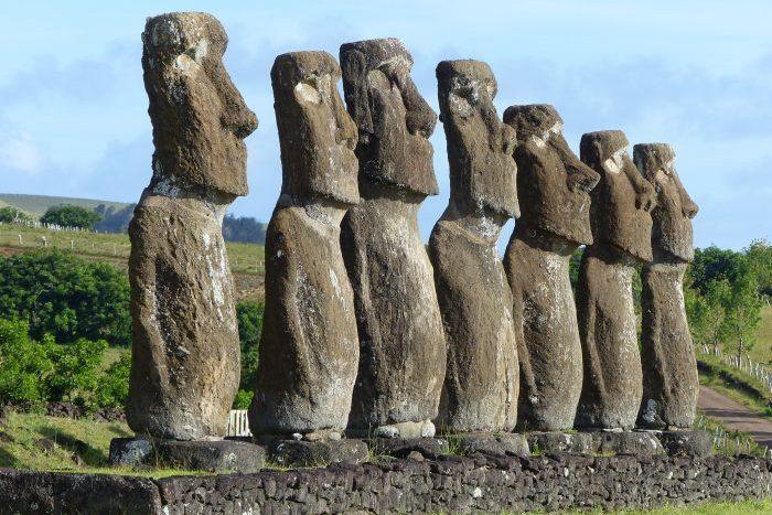Ahu Akivi, Easter Island - Laurie Jackson